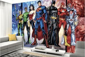 D.C. Comics and Sci-Fi wall murals and Decals