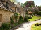 English Cotswold Cottages wall mural thumbnail