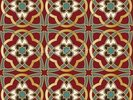 Arabic seamless pattern wall mural thumbnail