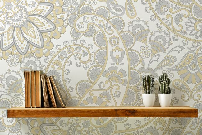 It's All About Wallpaper Shelves & Shelfies!