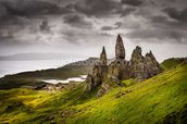 Old Man of Storr, Scotland wall mural thumbnail