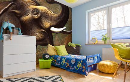 elephant wallpaper wall murals wallsauce australia. Black Bedroom Furniture Sets. Home Design Ideas