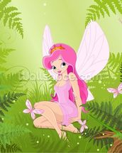 Magic Forest Fairy wallpaper mural thumbnail