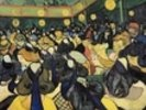 The Dance Hall at Arles, 1888 (oil on canvas) wall mural thumbnail