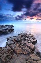 Kimmeridge Bay wall mural thumbnail
