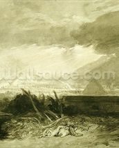 The Fifth Plague of Egypt, 1806-10 (pen and ink and wash) wall mural thumbnail