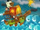 Pirate Ship wall mural thumbnail