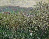 Fruit Pickers, 1879 (oil on canvas) wall mural thumbnail
