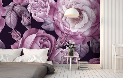 Floral Wallpaper Wall Murals Wallpaper