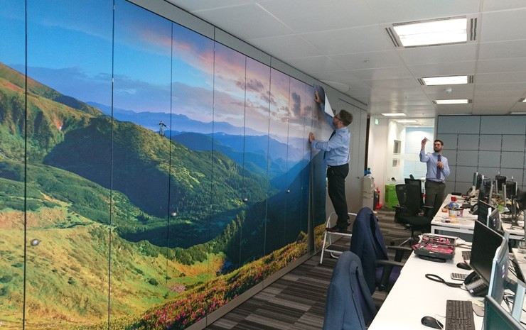 Landscape-wallpaper-in-office