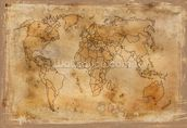 Old Map wall mural thumbnail