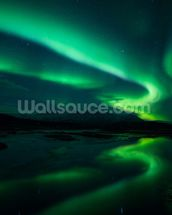 Northern Lights, Iceland mural wallpaper thumbnail