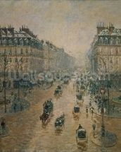 Avenue de LOpera, Paris, 1898 mural wallpaper thumbnail
