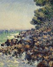 Cap Martin, 1884 (oil on canvas) mural wallpaper thumbnail