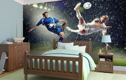 Football Wall Murals sport wallpaper murals & football wall murals | wallsauce usa