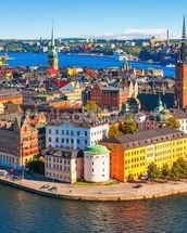 Stockholm, Sweden wallpaper mural thumbnail