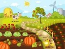 Harvest Time wall mural thumbnail