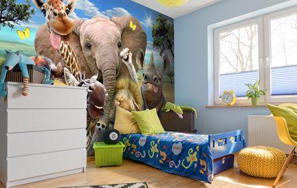 Animal wallpaper wall murals wallsauce usa for Animal mural wallpaper