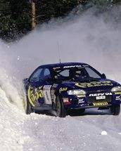 """If In Doubt, Flat Out"" Colin McRae mural wallpaper thumbnail"