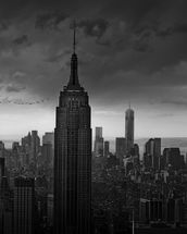 Rockerfeller View New York mural wallpaper thumbnail