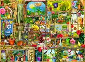 The Garden Cupboard mural wallpaper thumbnail