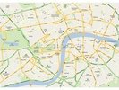 London Map wall mural thumbnail