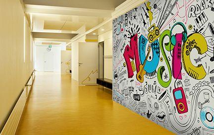 Music Wall Murals Amp Wallpaper Wallsauce Uk
