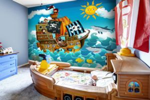 10 Wall Murals for Children's Bedrooms