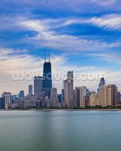 Chicago Skyline wall mural thumbnail