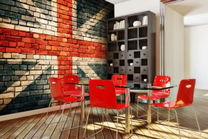 Wall mural inspiration for Dining Rooms