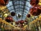 Covent Garden Christmas Baubles wall mural thumbnail