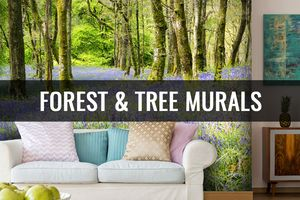6 Rooms that Need a Tree Mural