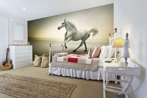 For junior riders why not have the perfect bedroom wallpaper adorn your  room  View our horse wall murals for great equestrian home ideas. Beautiful Equestrian Wall Murals   Wallsauce USA