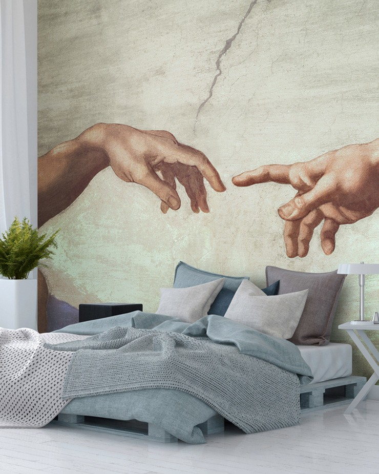 hands-of-god-mural-in-bedroom