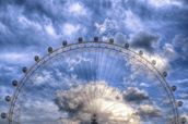 Top of the London Eye wallpaper mural thumbnail