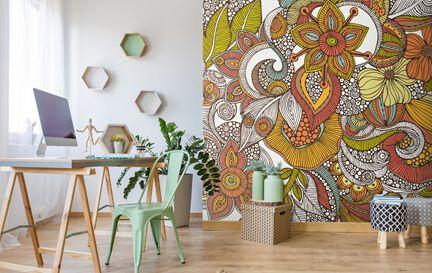 Pattern Wallpaper Wall Mural Wallpaper
