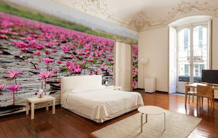 Lotus Flower Wallpaper Wall Murals