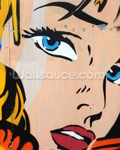 Pop Art wall mural thumbnail