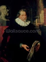Portrait of Ludovicus Nonnius (c.1553-1645/6) c.1627 (oil on panel) wallpaper mural thumbnail