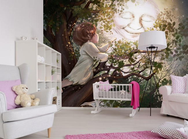 Nursery Wallpaper Fit for a Royal Baby