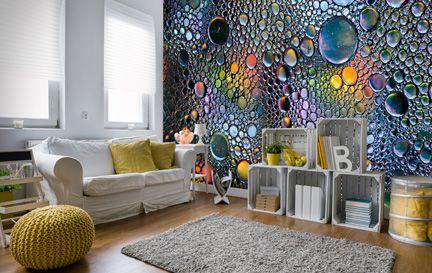 Abstract wallpaper abstract wall murals wallsauce usa for Abstract mural wallpaper