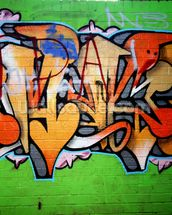 Urban Graffiti wall mural thumbnail
