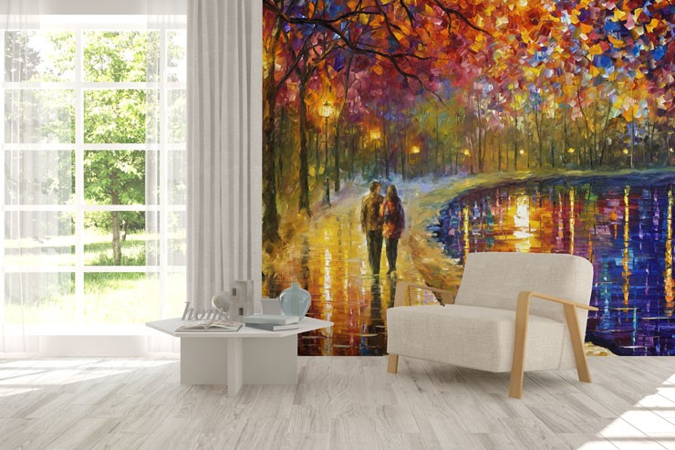 Spirit-by-the-Lake-wall-mural-by-Afremov