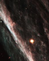 The Pencil Nebula: Remnants of an Exploded Star (NGC 2736) wallpaper mural thumbnail
