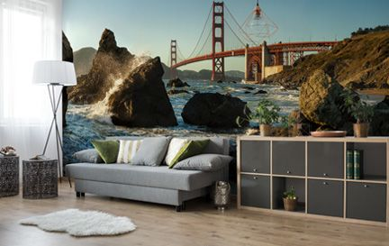 San Francisco Wallpaper Wall Murals Wallpaper