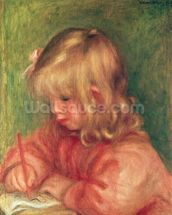 Child Drawing, 1905 wall mural thumbnail