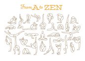 A to Zen mural wallpaper thumbnail
