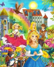 The Fairy Tales wallpaper mural thumbnail