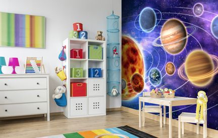 Space Wall Murals Wallpaper