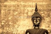 Buddha on Background wallpaper mural thumbnail